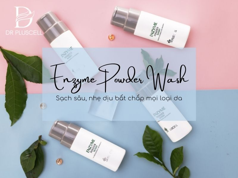 Enzyme Powder Wash Dr Pluscell
