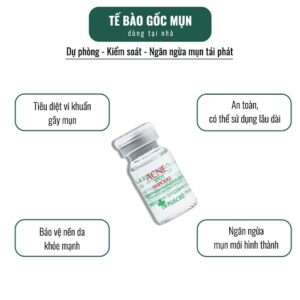Công dụng Tế bào gốc trị mụn Dr Pluscell Acne Spot Ampoule