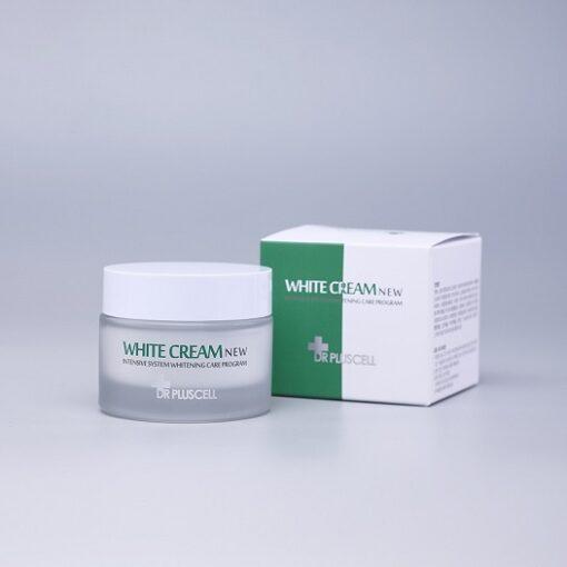 kem dưỡng trắng da dr pluscell white cream