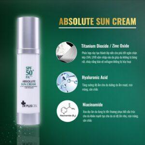thành phần Kem chống nắng dr pluscell absolute sun cream