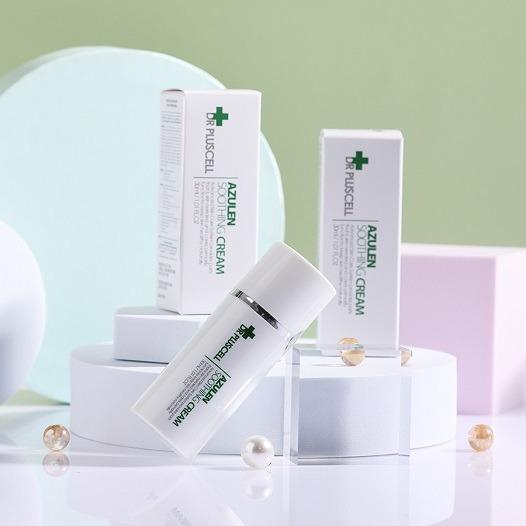 Kem dưỡng da Dr Pluscell Azulen Soothing Cream cho da nhạy cảm