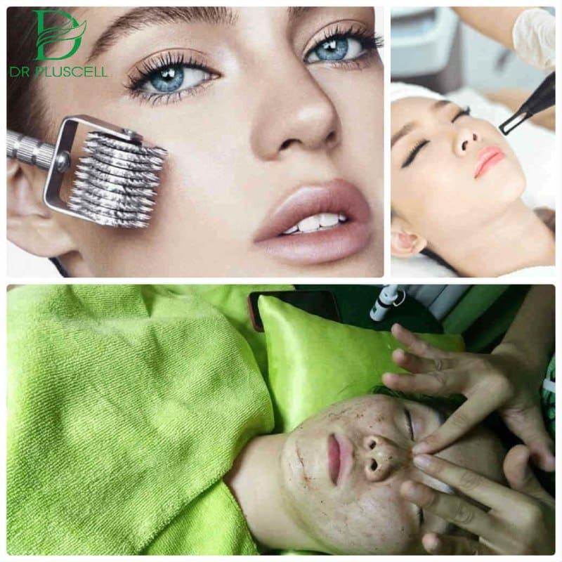 Nên sử dụng chung sản phẩm với các liệu trình điều trị da
