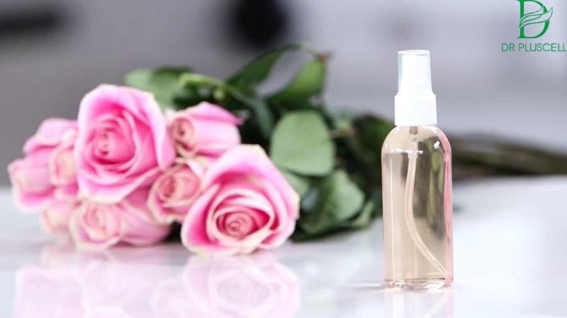 Nước hoa hồng Nha đam dễ dàng thực hiện tại nhà