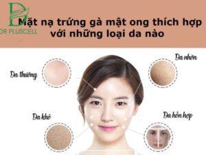 Loại da đắp mặt nạ