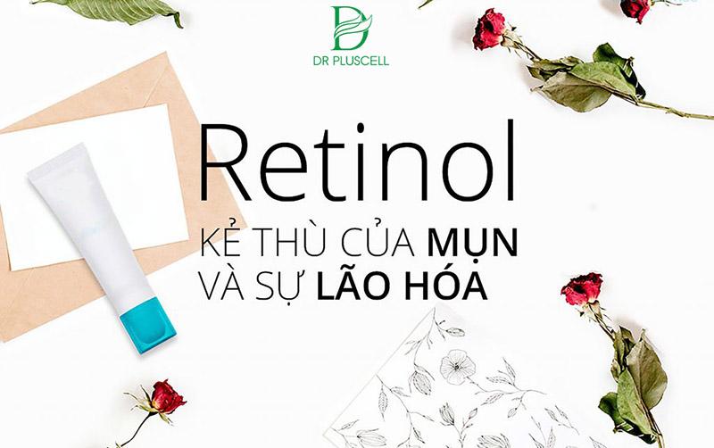 retinol và sự lão hóa