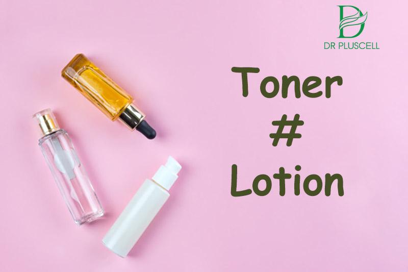 so sánh toner và lotion