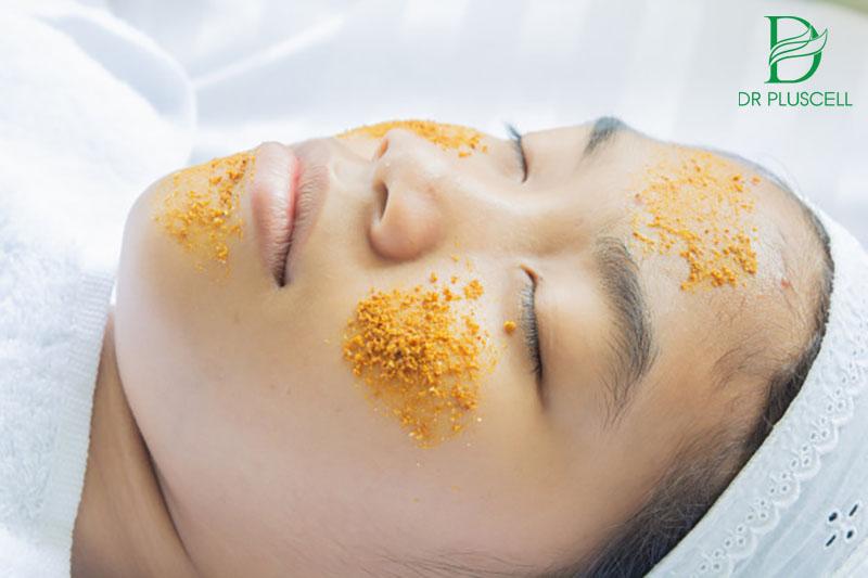 mặt nạ mật ong nghệ