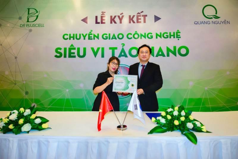 ký kết với đối tác Hàn Quốc