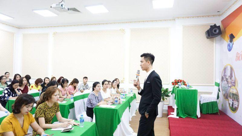 Ông Nguyễn Quang Thắng trực tiếp đào tạo