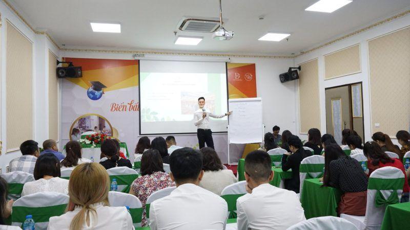 Quang Nguyễn đào tạo