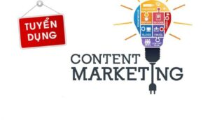 dr pluscell tuyển dụng content marketing