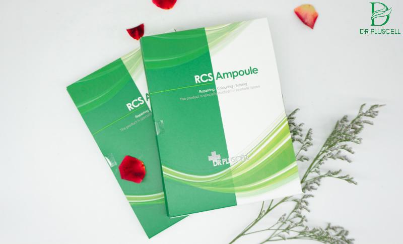 Bộ dưỡng kích màu RCS Ampoule Dr Pluscell