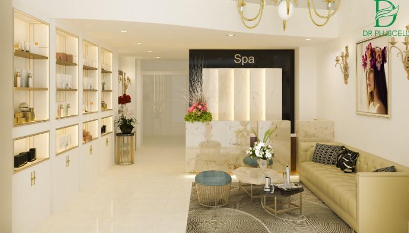 Phong cách hướng đến spa luôn được thể hiện rõ ràng qua từng chi tiết trong spa