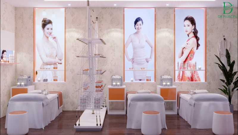 Ví dụ điển hình theo phong cách spa nét đặc trưng của Châu Á