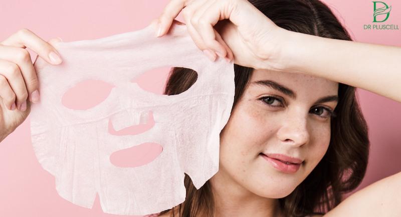 Dưỡng chất có trong mặt nạ hỗ trợ da loại bỏ mụn