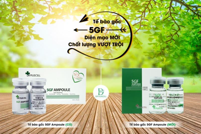 Tế bào gốc 5GF Growth Factor phiên bản mới