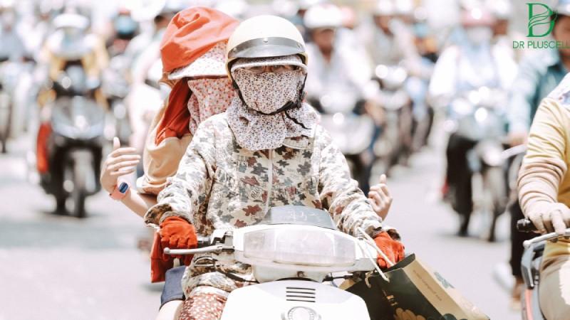 Cách chống nắng sử dụng đồ bảo hộ