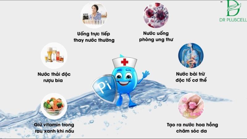Nước mang nhiều lợi ích cho sức khỏe bên trong cơ thể