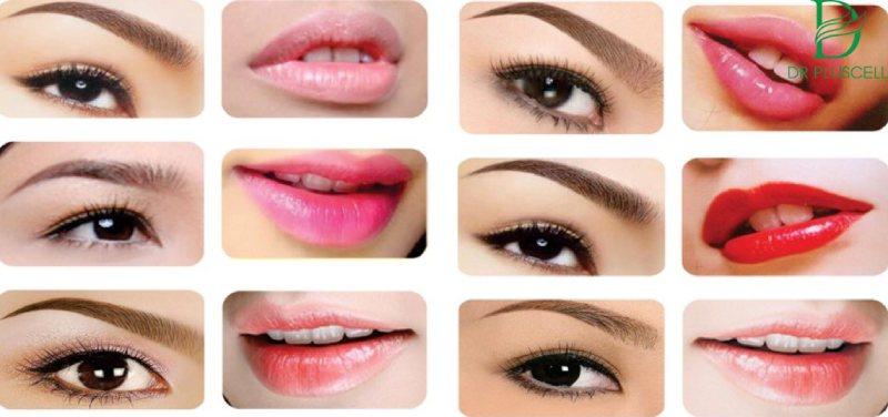Xăm môi, mày mí là phương pháp làm đẹp hiện đại, phổ biến