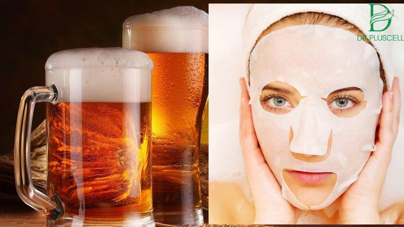 Rửa mặt bằng bia