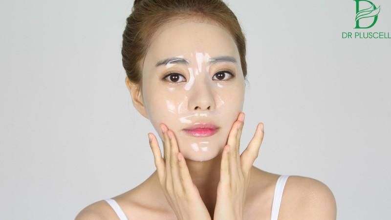 Mặt nạ có chứa nhiều thành phần dưỡng chất thiết yếu giúp da trẻ hóa