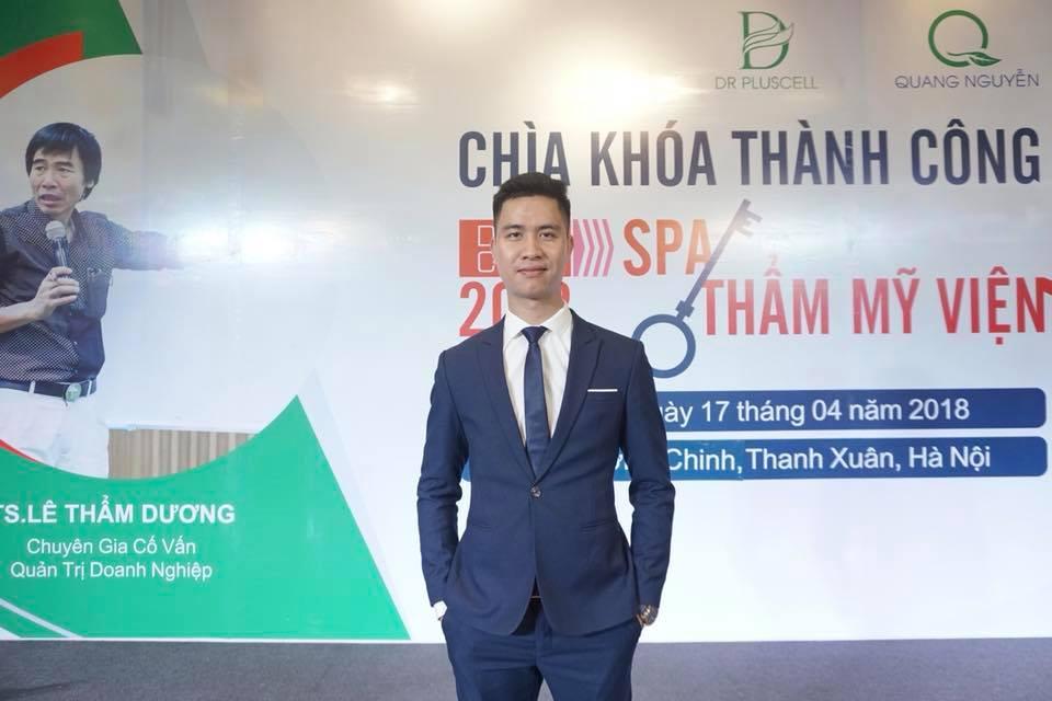 giới thiệu giám đốc Nguyễn Quang Thắng