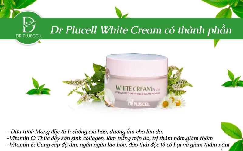 kem dưỡng trắng da Dr Pluscell