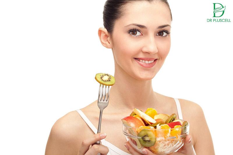 chế độ ăn sau peel