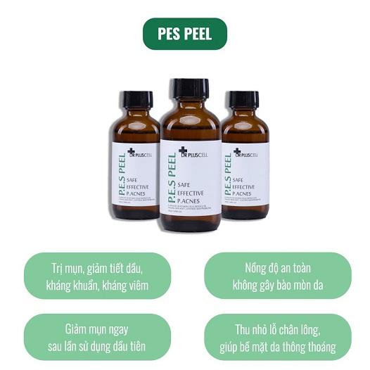 công dụng dung dịch thay da sinh học pes peel dr pluscell
