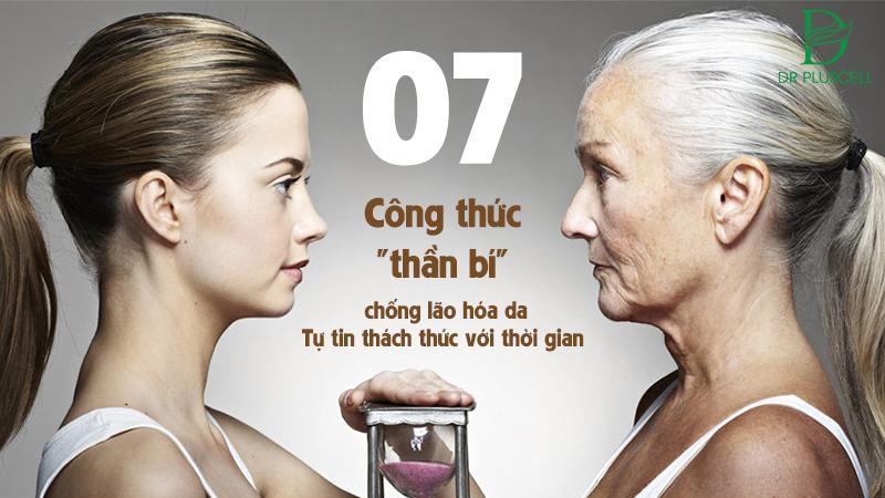công thức chống lão hóa mãi cùng thời gian