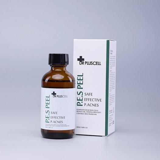 dung dịch thay da sinh học điều trị mụn pes peel dr pluscell