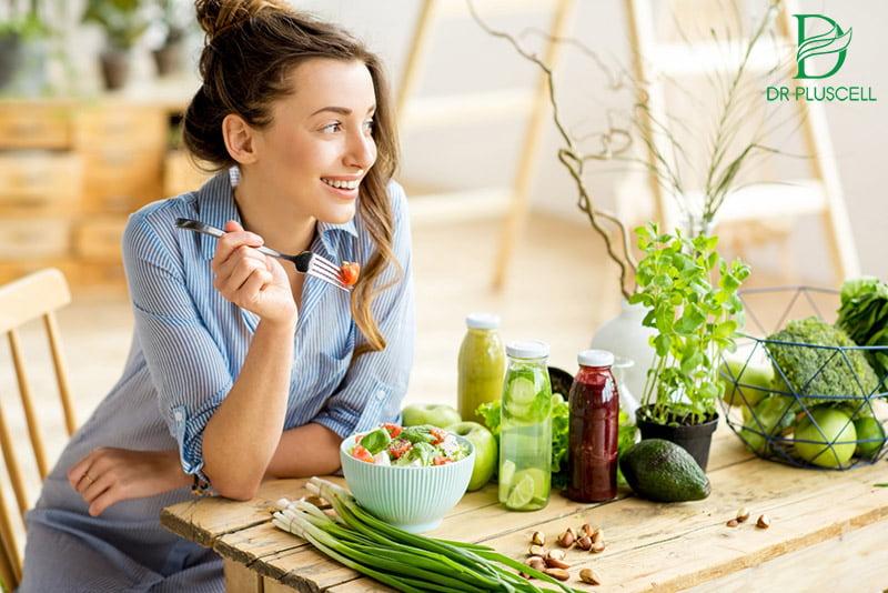 chế độ sinh hoạt, ăn uống khoa học