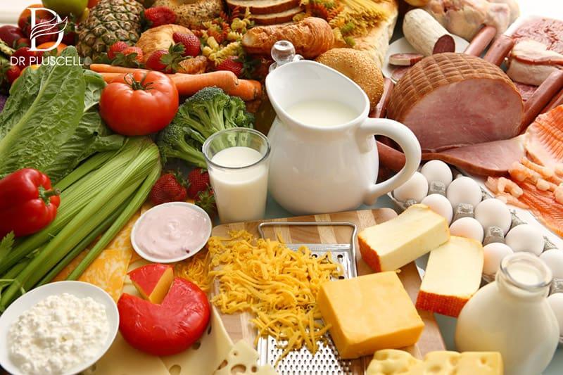 Chế độ dinh dưỡng bổ sung nhiều vitamin và khoáng chất