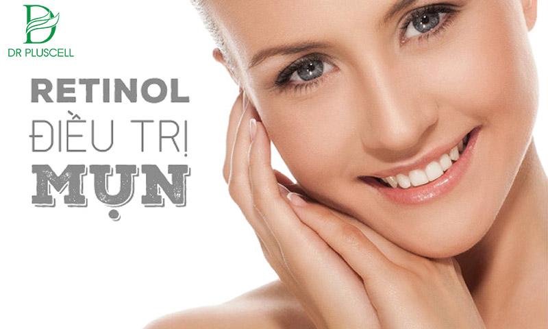 Retinol từ Vitamin A có khả năng điều trị mụn tốt