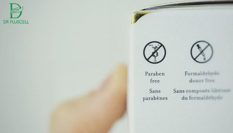 thành phần độc hại Paraben trong mỹ phẩm