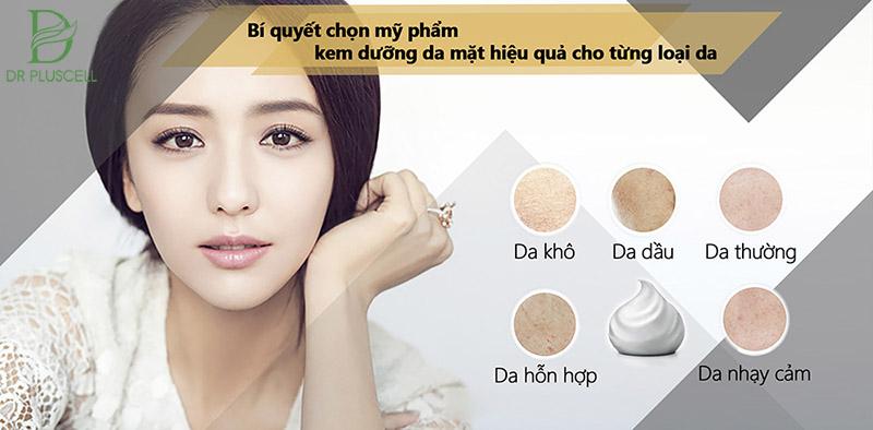 moisturizer cho từng loại da
