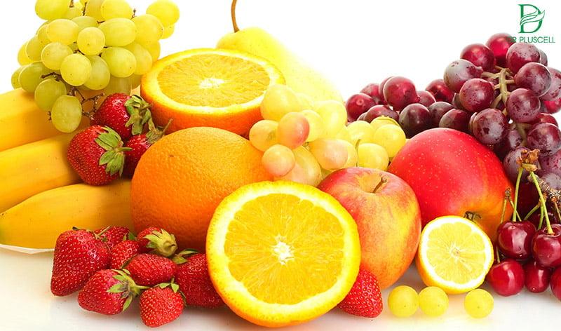 Vitamin C từ trái cây cũng cấp dinh dưỡng tốt cho da