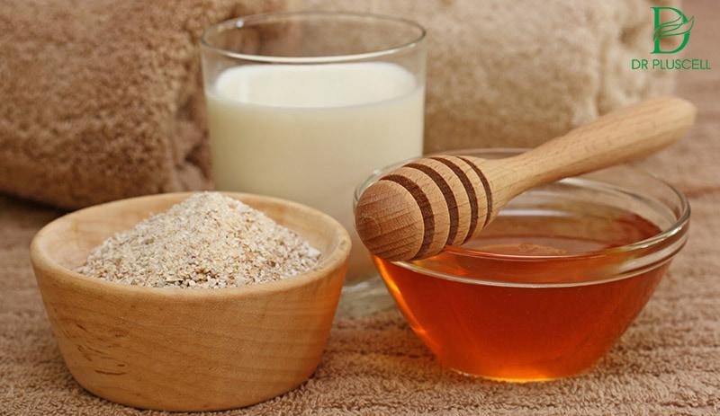 Mật ong, sữa và sữa tươi giúp tây tế bào chết sạch sẽ