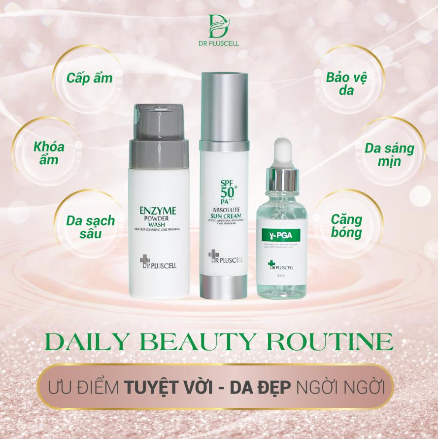 bộ sản phẩm Daily Beauty Routine