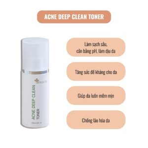 công dụng toner acne deep clean toner dr pluscell