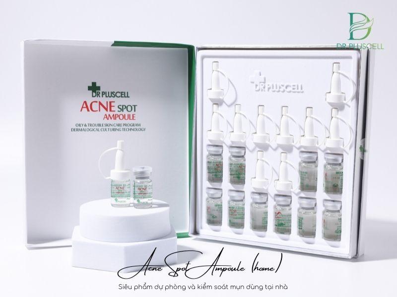 tế bào gốc trị mụn acne spot ampoule dr pluscell home