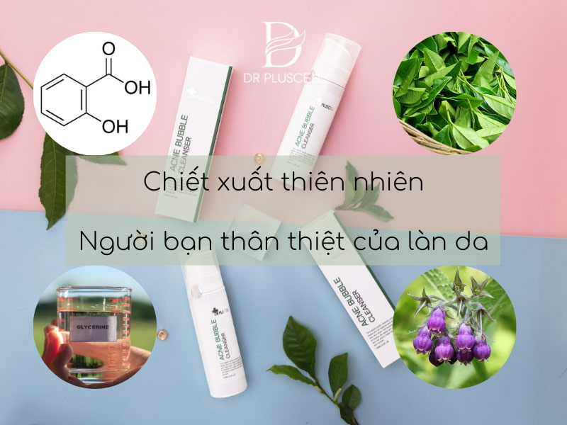 thành phần acne bubble cleaner